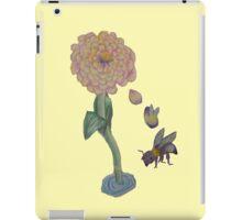 Zinnia to bumble bee iPad Case/Skin