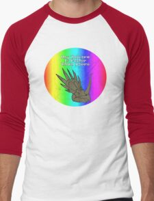 My Unicorn is Cooler Than Yours Men's Baseball ¾ T-Shirt