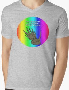 My Unicorn is Cooler Than Yours Mens V-Neck T-Shirt