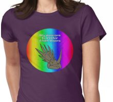 My Unicorn is Cooler Than Yours Womens Fitted T-Shirt