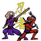 Ninjas by Leif Prime
