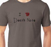 I ❤ DEATH NOTE Unisex T-Shirt