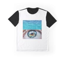 Blue shimmering pools  Graphic T-Shirt