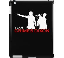 team-grimes-dixs iPad Case/Skin
