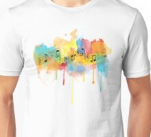 Watercolor Melody Unisex T-Shirt