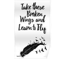 Broken Wings Poster