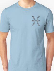 Pisces Zodiac Symbol Element T-Shirt
