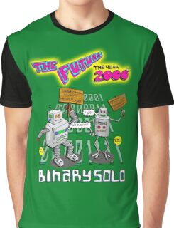 Flight of the Conchords - Binary Solo - Robots 2 Graphic T-Shirt