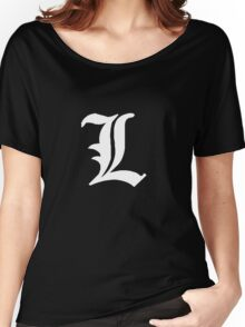 L - White Women's Relaxed Fit T-Shirt