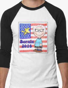 Bernie 2016 Men's Baseball ¾ T-Shirt