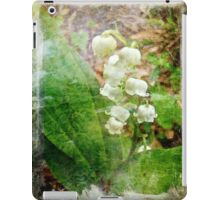 Lily of the Valley - In White #1 iPad Case/Skin