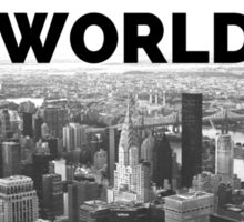 Great City in the World Skyline Art Sticker