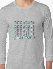 The Flight of the Conchords - Binary Solo - Robots Long Sleeve T-Shirt