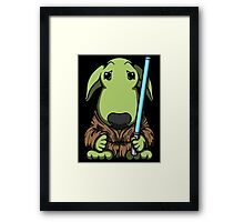 May The Bully Be With You Framed Print