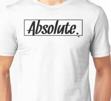 Absolute Thought Bubble Unisex T-Shirt