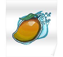 Pixel Mango  Poster