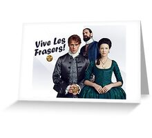 Dragonfly in Amber/Vive Les Frasers Greeting Card