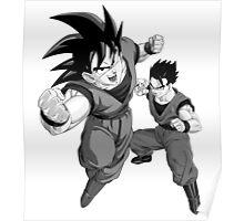 Goku and Gohan Poster