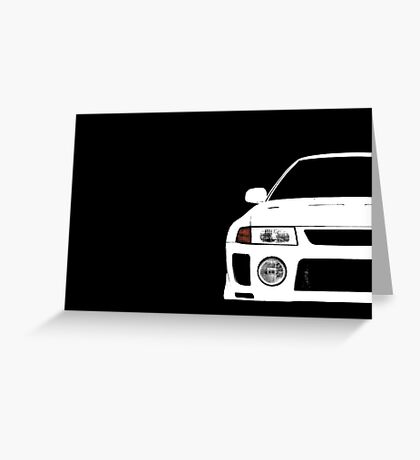 Evo 5 Greeting Card