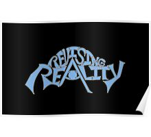 Revising Reality Illuminated Being Logo Poster