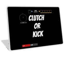 Clutch Or Kick Laptop Skin