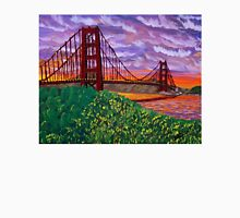 Golden Gate Bridge at Sunset Unisex T-Shirt