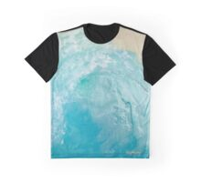 Blue Tube Graphic T-Shirt