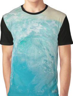 Blue Tube Graphic T-Shirt