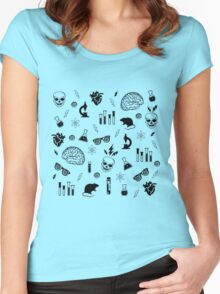 Weird Science in Green Women's Fitted Scoop T-Shirt