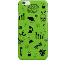 Weird Science in Green iPhone Case/Skin