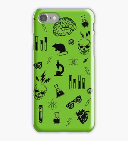 Weird Science in Green iPhone Case/Skin