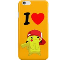 I love Pekemon iPhone Case/Skin