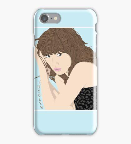 Hyolyn iPhone Case/Skin