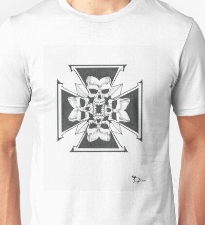 Ironcross of skulls Unisex T-Shirt
