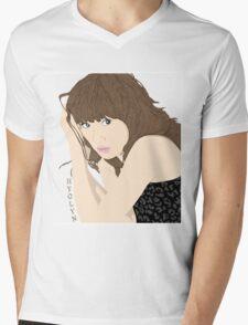 Hyolyn Mens V-Neck T-Shirt