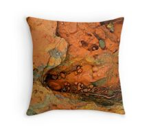 Geology  - Rock Form Brockman Iron Formation Western Australia Throw Pillow