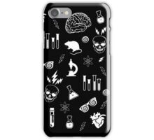 Weird Science in Black iPhone Case/Skin