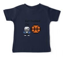 Sans Dunked Baby Tee