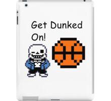 Sans Dunked iPad Case/Skin