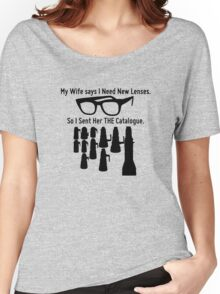 Getting New Lenses Women's Relaxed Fit T-Shirt