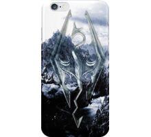 Skyrim Winter Poster iPhone Case/Skin