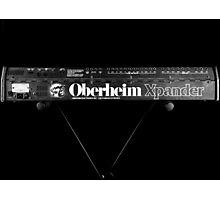 Oberheim Xpander on stand Photographic Print