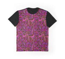- Colorful swirls pattern - Graphic T-Shirt