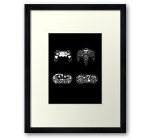 X-ray Controller Framed Print