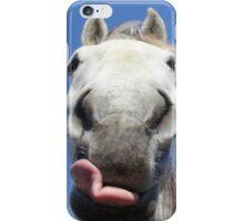 Horse Licks iPhone Case/Skin