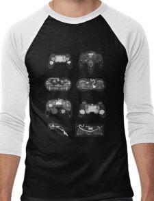 4 X-ray Controller Men's Baseball ¾ T-Shirt