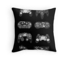 4 X-ray Controller Throw Pillow