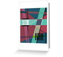 Abstract #410 Greeting Card