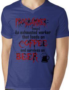 Programmer. Mens V-Neck T-Shirt