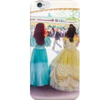 princess walks iPhone Case/Skin